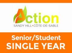 Senior/Student – One Year
